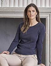 Womens Long Sleeve Interlock Tee