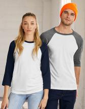 Unisex 3 / 4 Sleeve Baseball T-Shirt