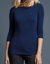 Women`s Stretch 3/4 Sleeve Tee