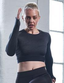 Girlie Long Sleeve Crop T