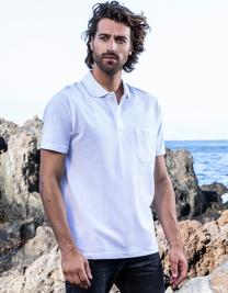 Men`s Heavy Polo Pocket