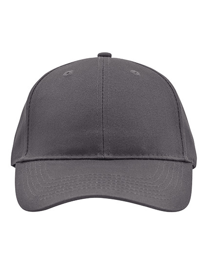 Brushed 6-Panel Cap